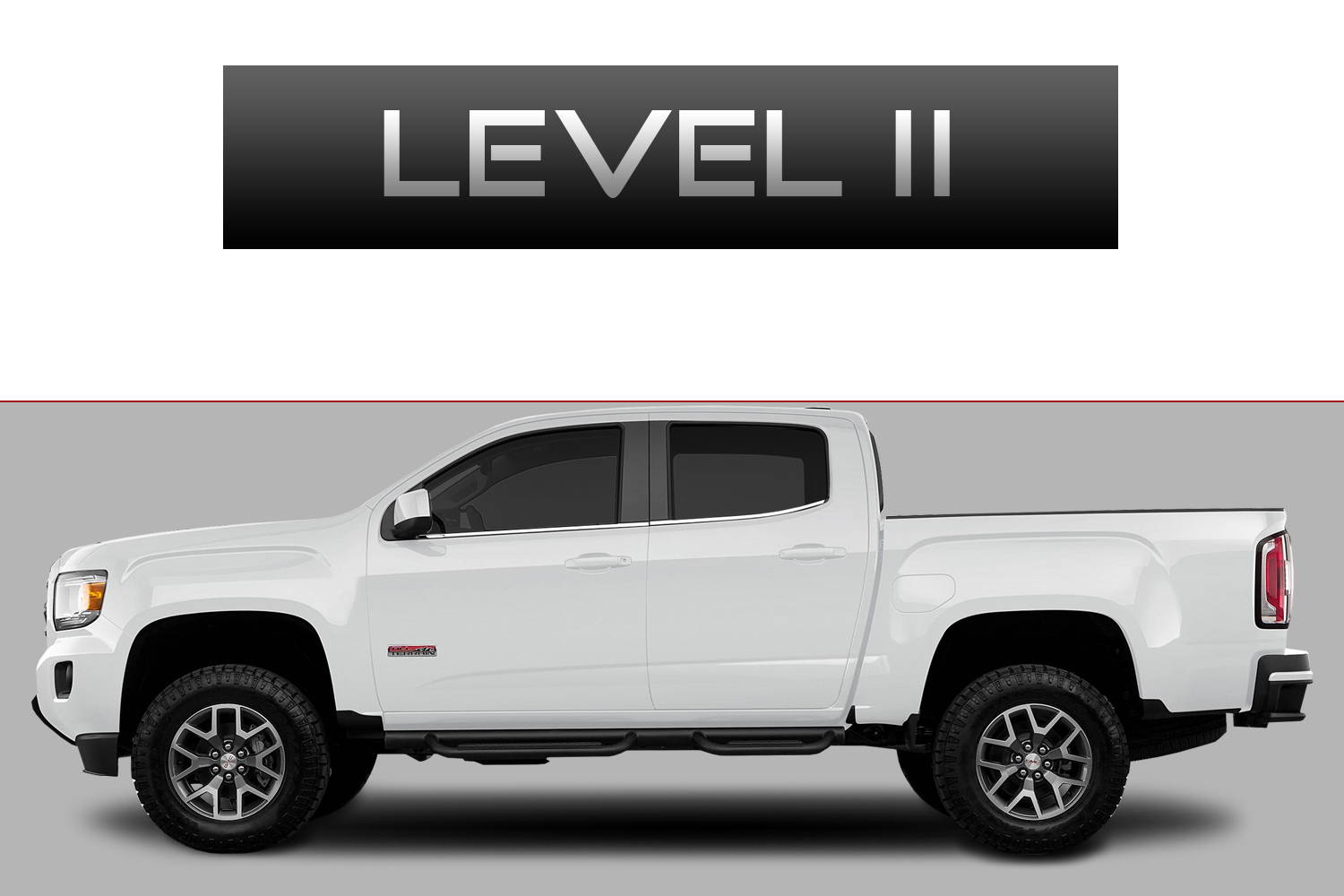 GMC Canyon Off-Road Customizing Package Level 2 by 3C Trucks