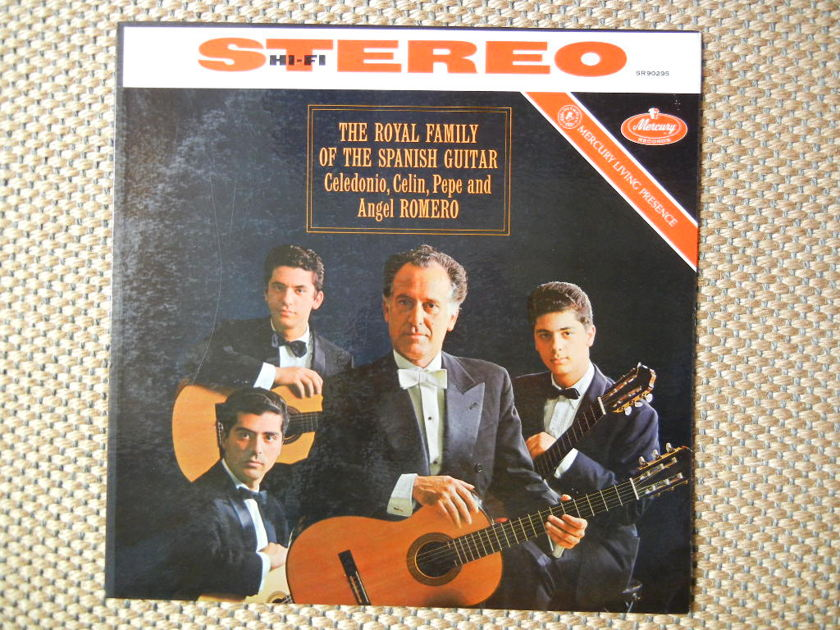 THE ROYAL FAMILY OF SPANISH GUITAR/ - ANGEL ROMERO/ Mercury Living Presence SR90295