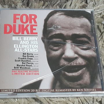 FOR DUKE - BILL BERRY AND HIS ELLINGTON ALL-STARS