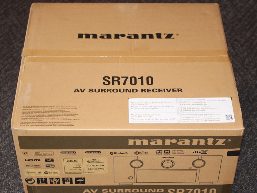 Marantz SR7010 AV Surround Receiver with WI FI and Bluetooth!