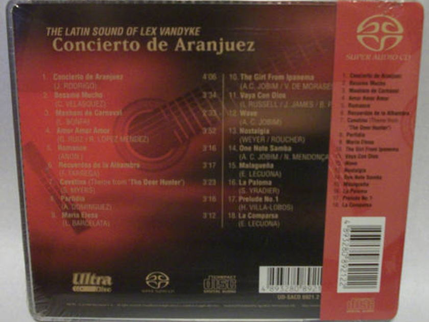 The Latin Sound Of - Lex Vandyke,  SACD concierto de aranjuez, new