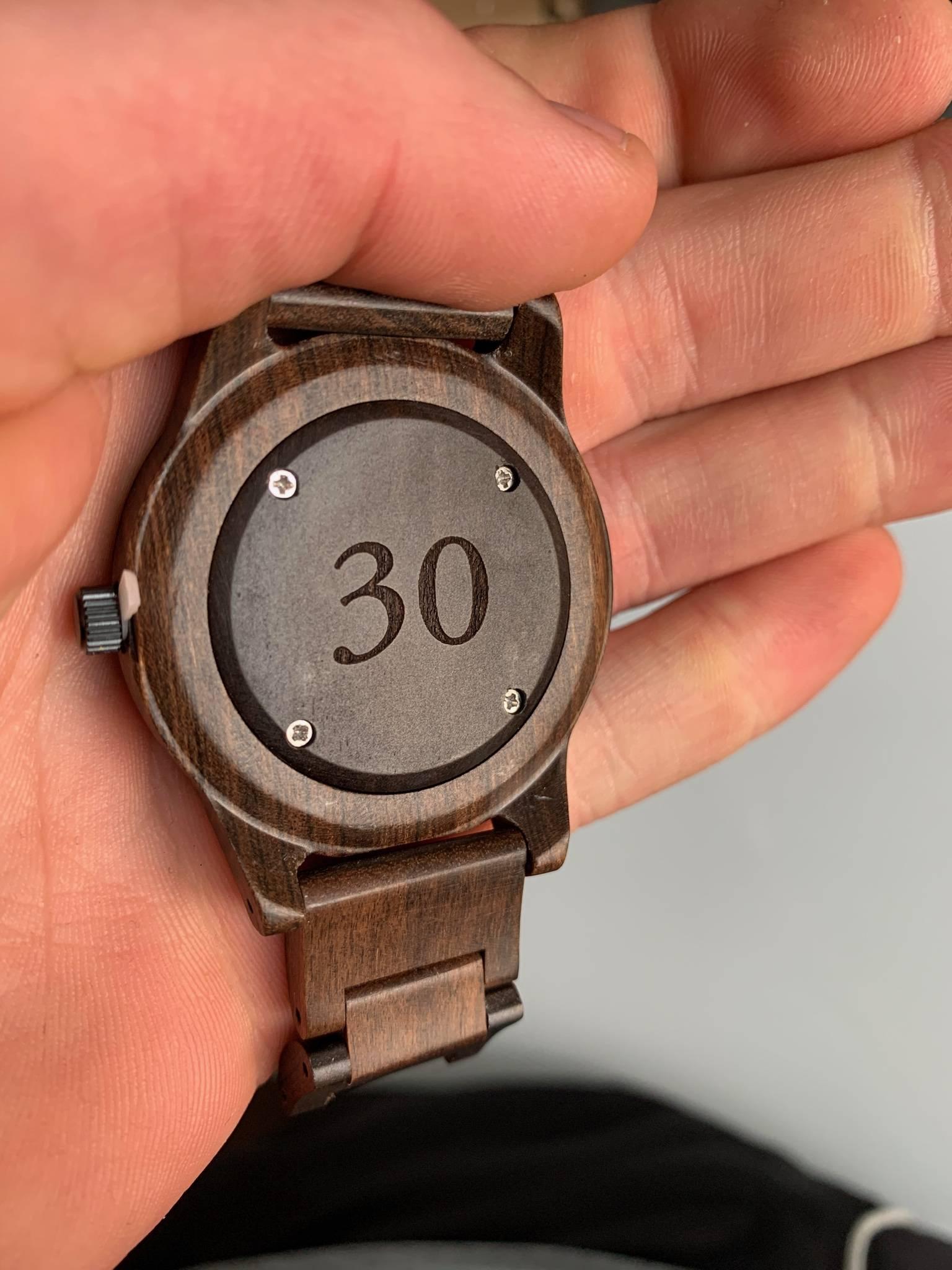 Birthday Gift of Wooden Watch