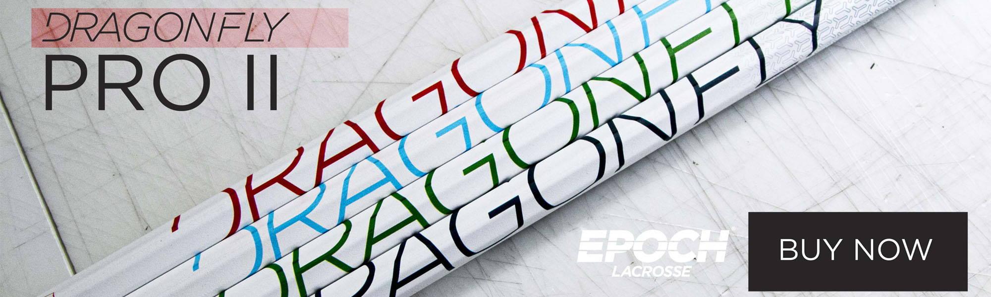 EPOCH LACROSSE DRAGONFLY PRO II TECHNO-COLORS | TOP STRING LACROSSE