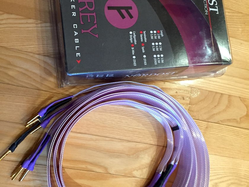 Nordost Frey Spk. 2m Sp/B  Bi-Wire