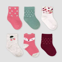 Just One You infant girl socks