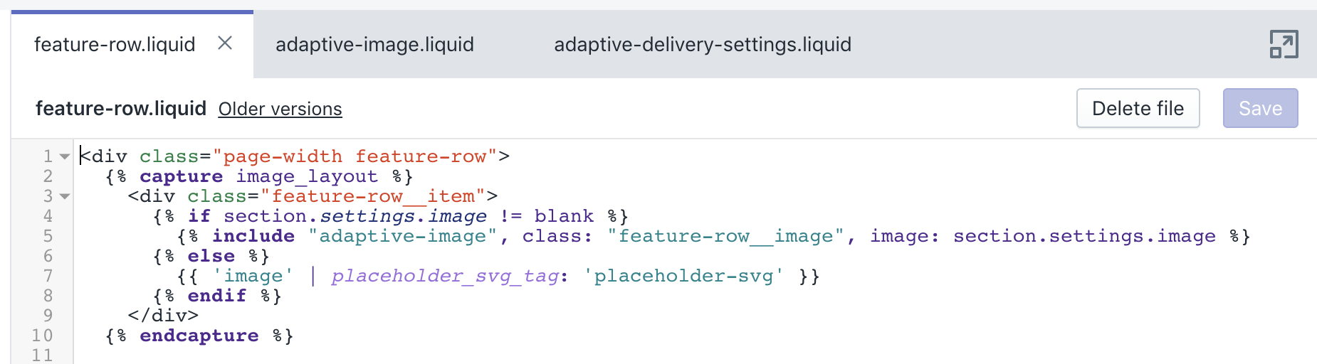 Shopify Adaptive Delivery integration with one line of code