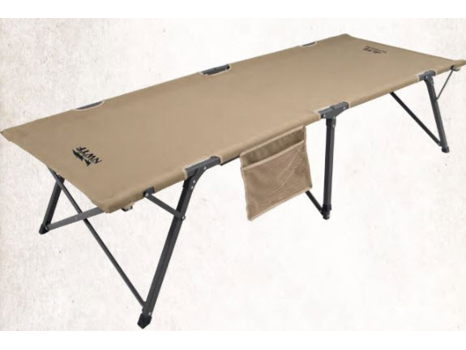New Khaki Escalade Cot - Large w/ NWTF Logo