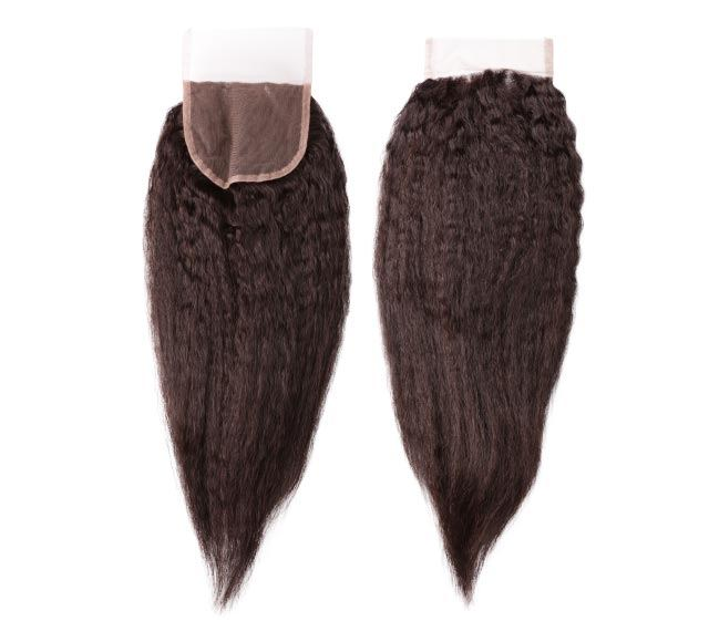Kinky Straight Lace Closure Mayvenn