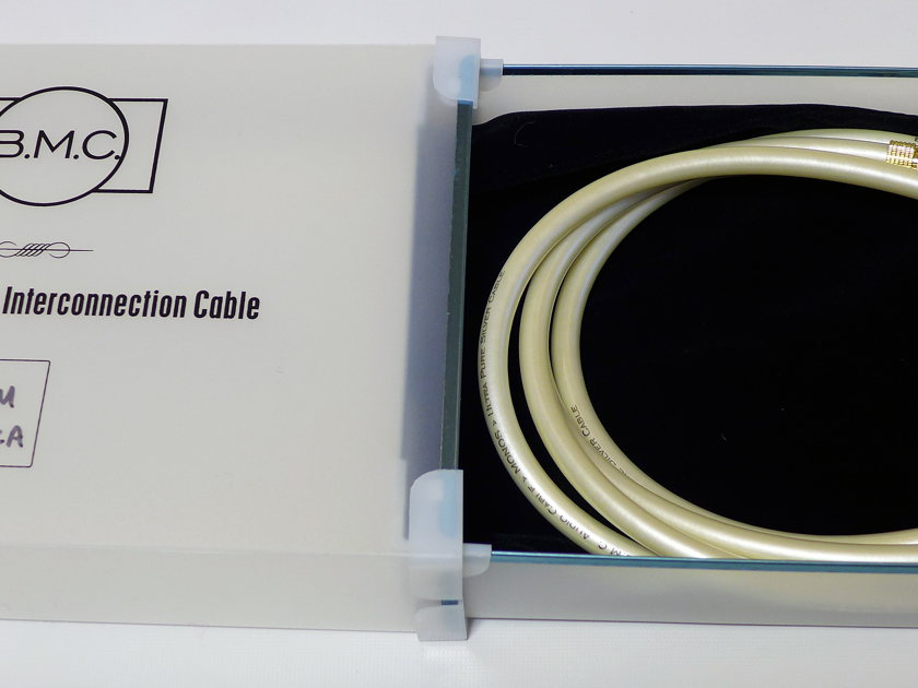 BMC Monos Interconnects Pure Silver Conductors