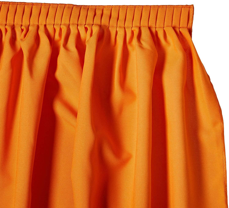 LA Line Table Skirt, Orange color, detail