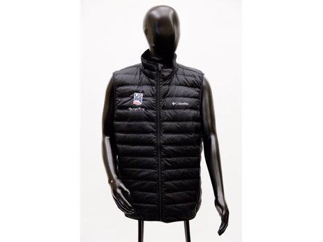 Men's Olympic Down Vest by Columbia, L