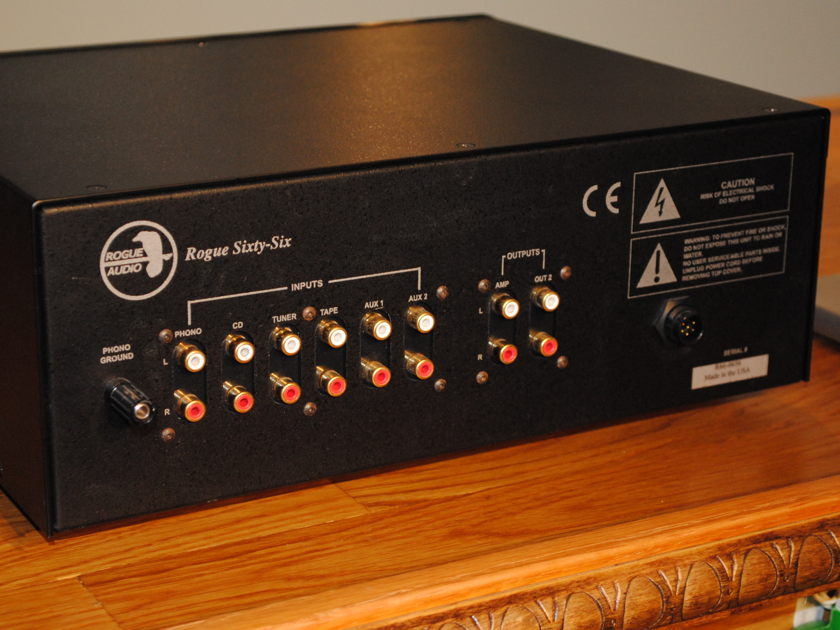 Rogue 66 magnum line stage preamp