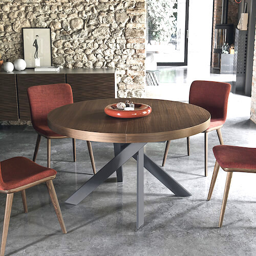 Calligaris Tivoli Round Extending Table