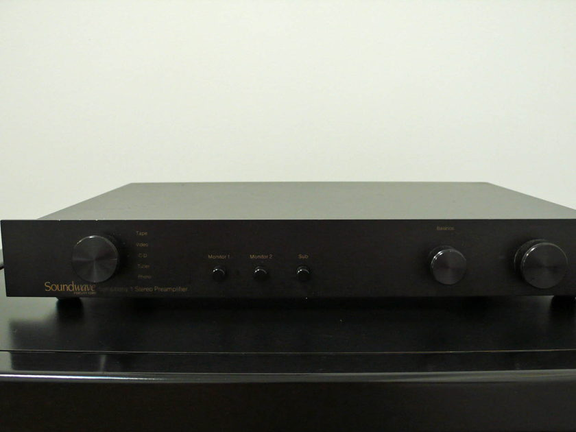 Belles Research (David Belles) Symphony 1 Preamp - Original Owner w/ Box - Made in USA