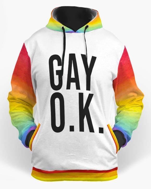lgbt hoodie gay ok