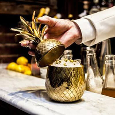 W and P Design Pineapple Cocktail Shaker
