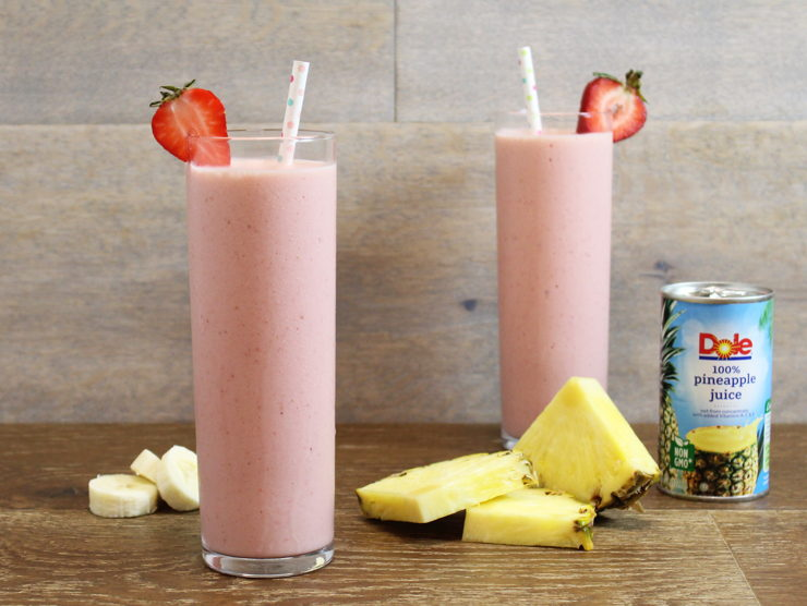 Creamy Pineberry Blast