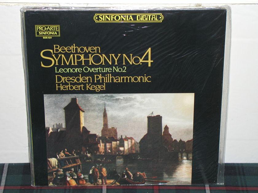 Kegel/DPO - Beethoven Nr.4 PRO-ARTE SEALED LP