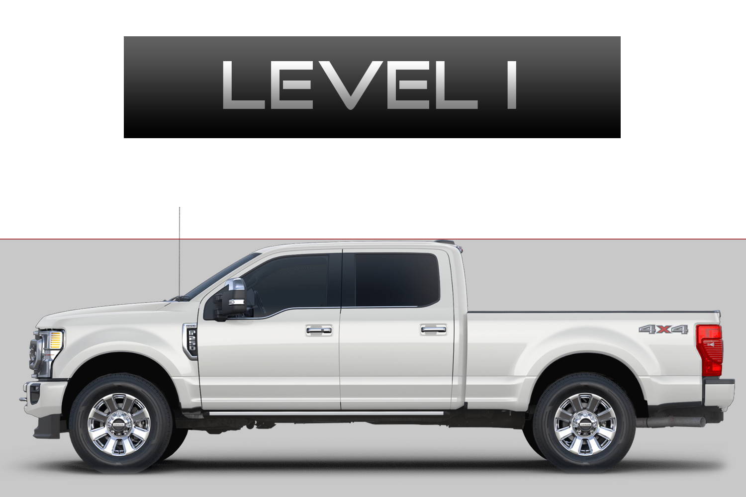 Ford F250 F350 Super Duty Off-Road Customizing Package Level 1 by 3C Trucks