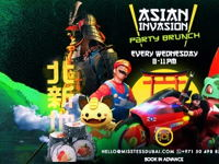 ASIAN INVASION PARTY BRUNCH image