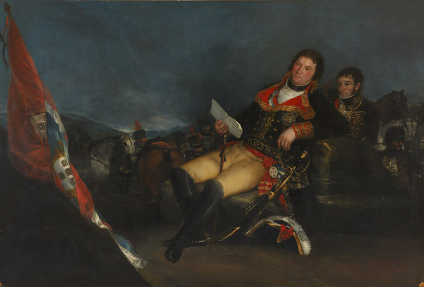 Goya, Manuel Godoy as Prince of the Peace