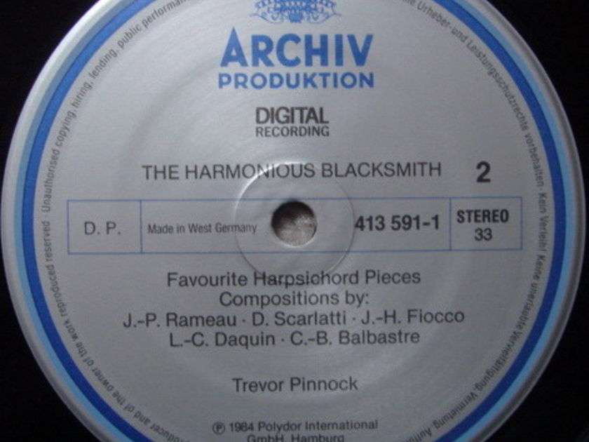 Archiv Digital / PINNOCK, - The Harmonious Blacksmith, NM!