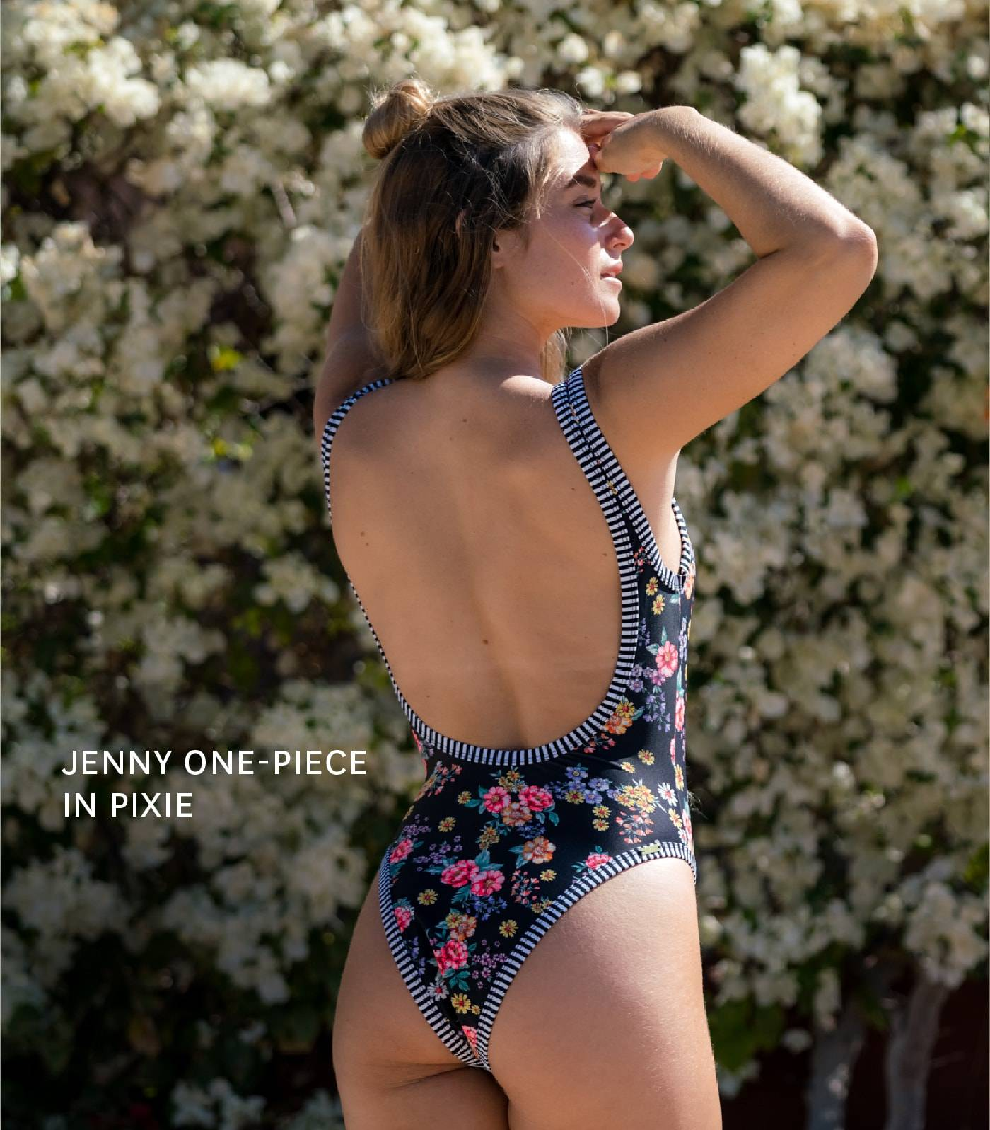 Get the JENNY ONE-PIECE in PIXIE!