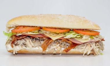 Big Star Sandwich Turkey,Bacon,Ham,Swiss