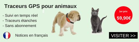 traceur gps pour animaux