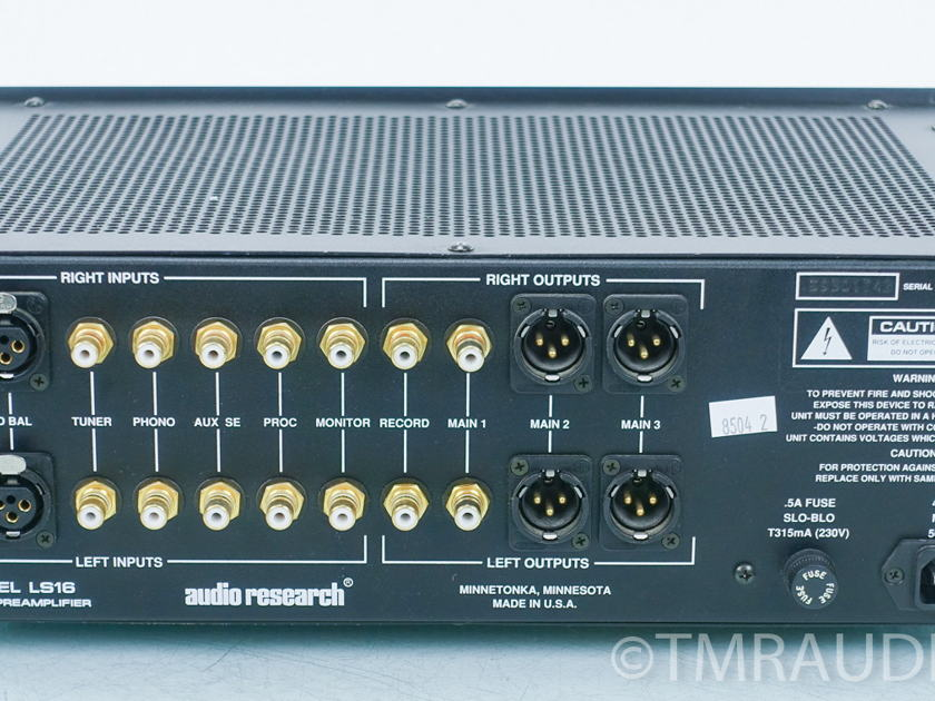 Audio Research LS16 Tube Preamplifier (8504)