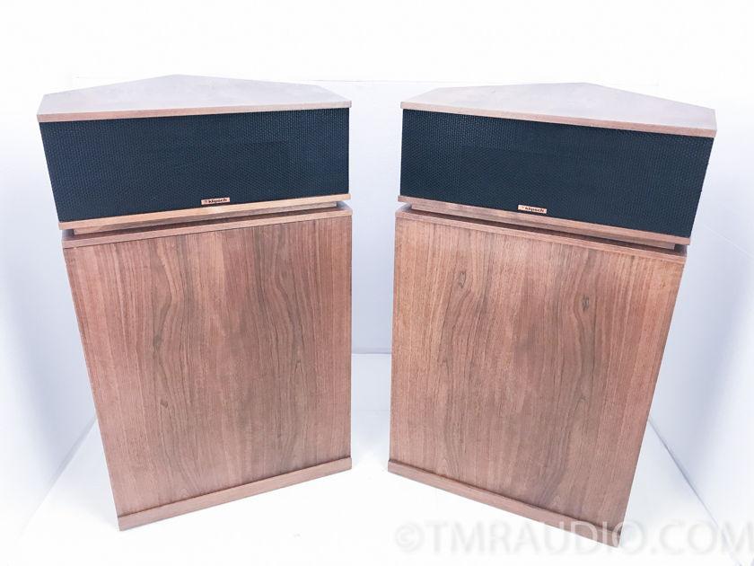 Klipsch  Klipschorn Floorstanding Speakers; Walnut; Pair (3036)