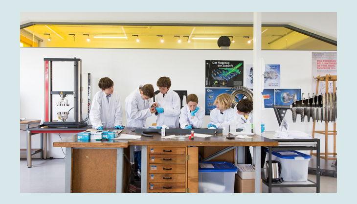 technische sammlung dresden kinder im labor