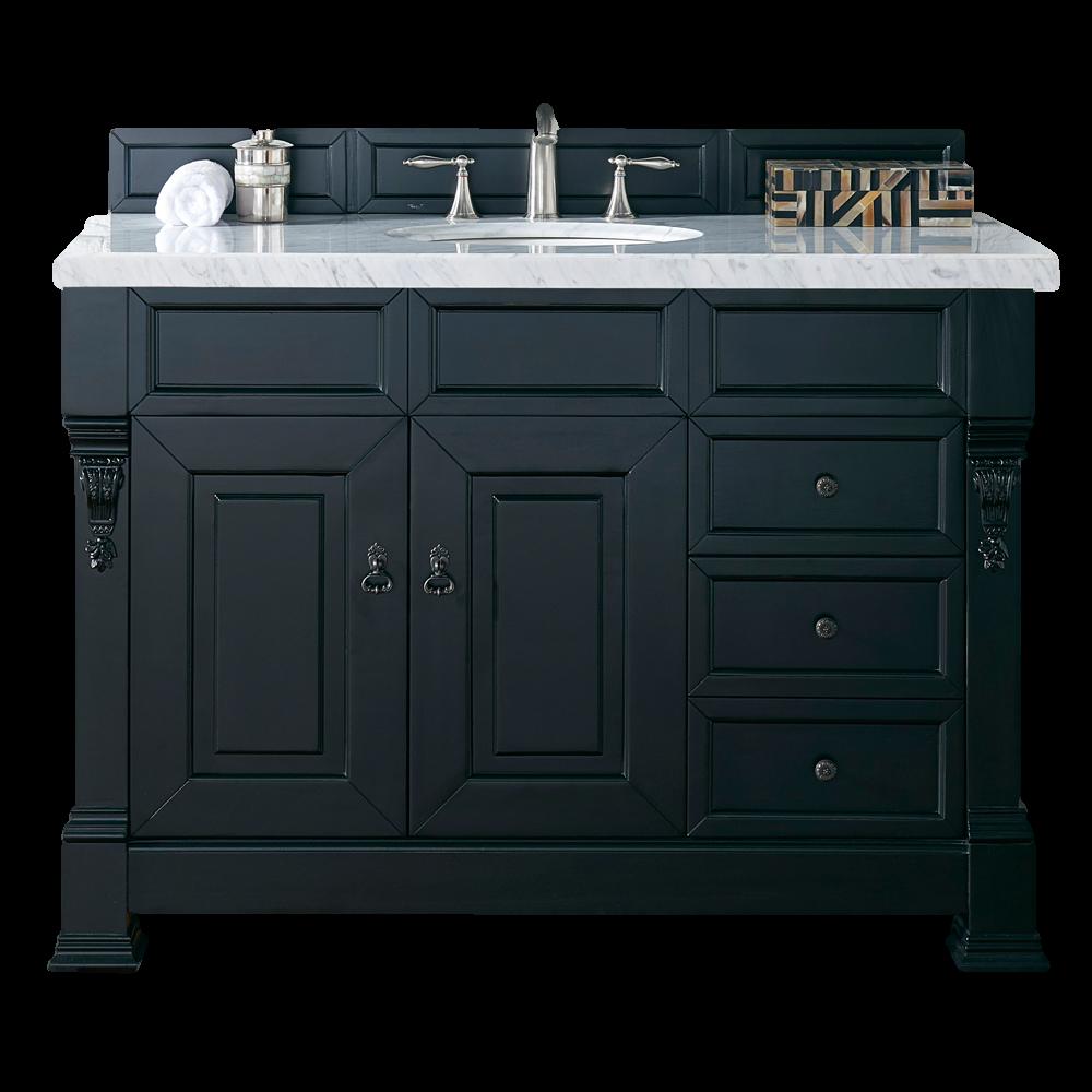 "Brookfield 48"" Single Bathroom Vanity-Antique Black"