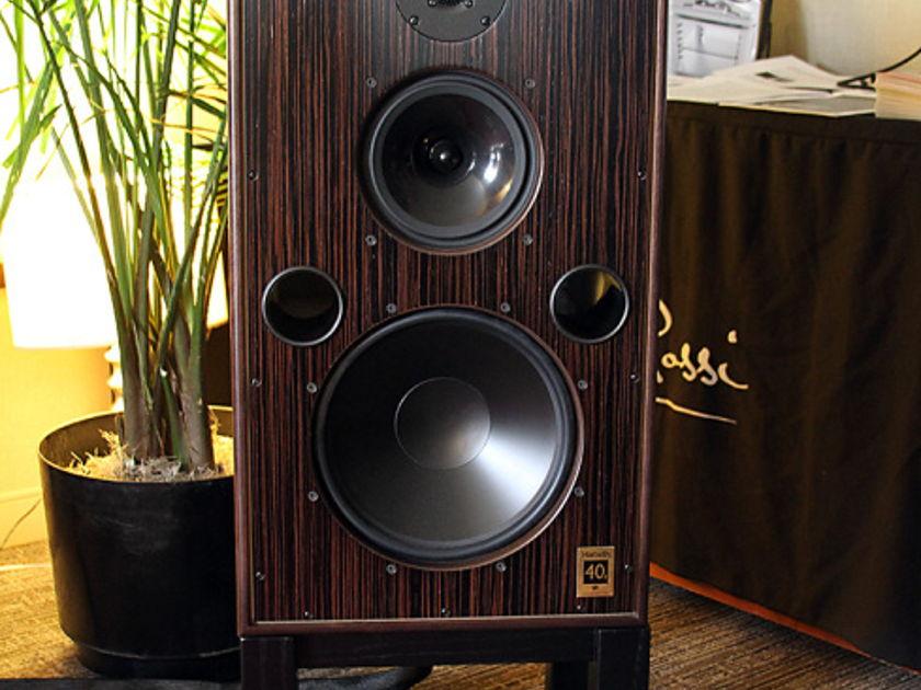 Harbeth Resonant Wood Stands 40.2 Gene Rubin Audio #1 since 1979