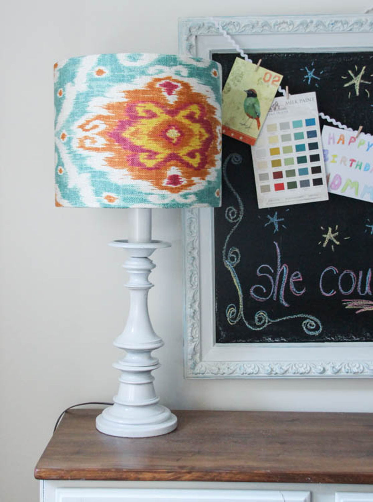 How to make a lampshade using any material you want - I Like That Lamp