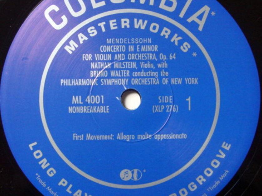 ★Audiophile 180g★ RCA-Classic Records / MILSTEIN-WALTER, - Mendelssohn Violin Concerto, MINT(OOP)!