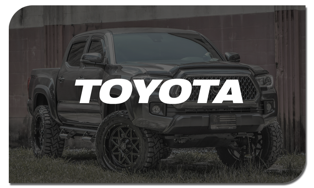 Shop Online for Off-Road Wheels for Toyota Trucks