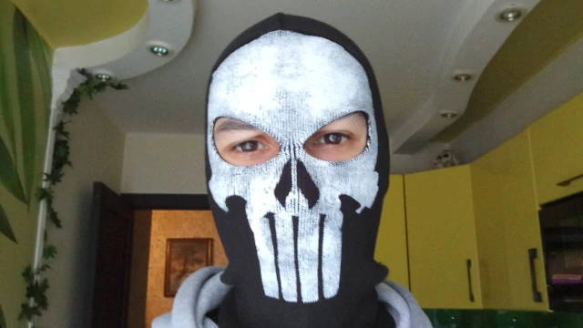 cagoule punisher resistante