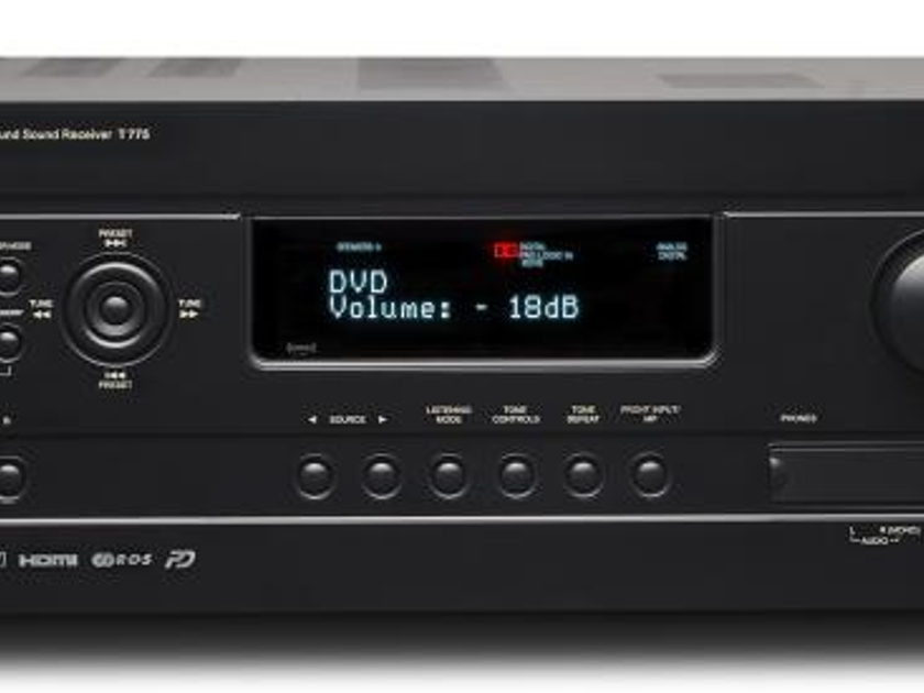 NAD T775 HD Home Theater Receiver with Manufacturer's Warranty