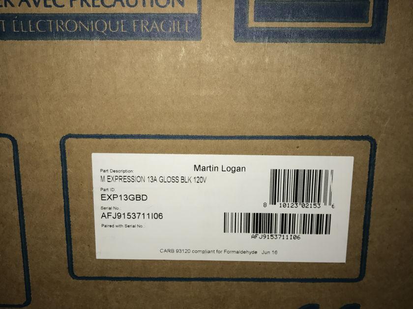 """Martin Logan Expression ESL 13A piano black""""NEW MODEL"""" trade in"""