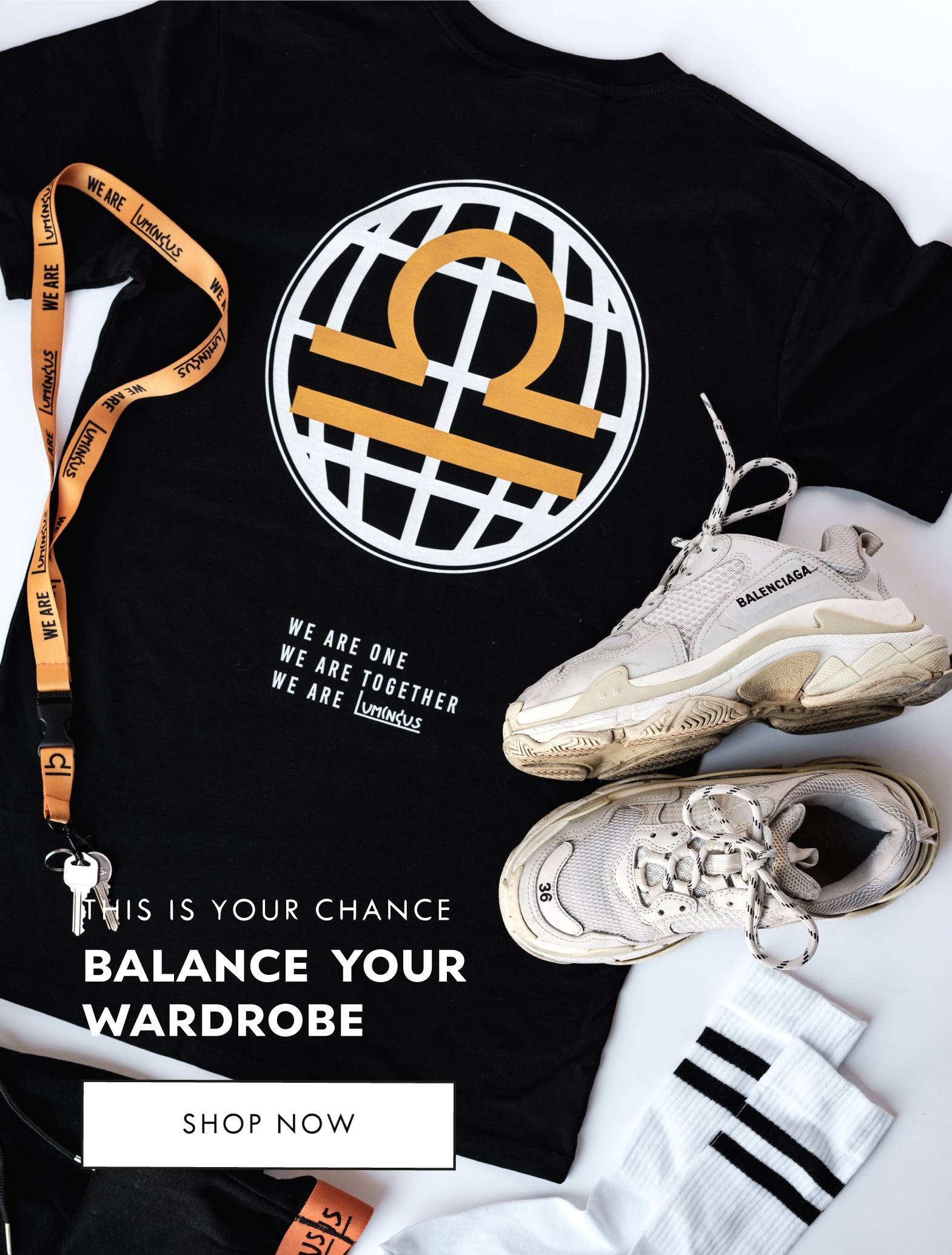This Is Your Chance - Balance Your Wardrobe