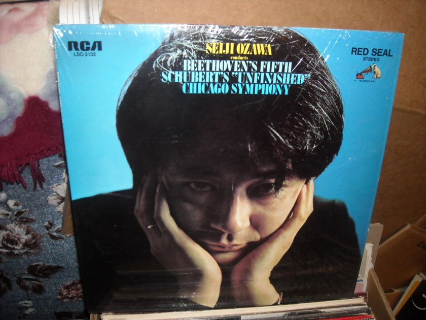 (lec) Seiji Ozawa Conducts - Beethoven's Fifth RCA Victor  LP (c)