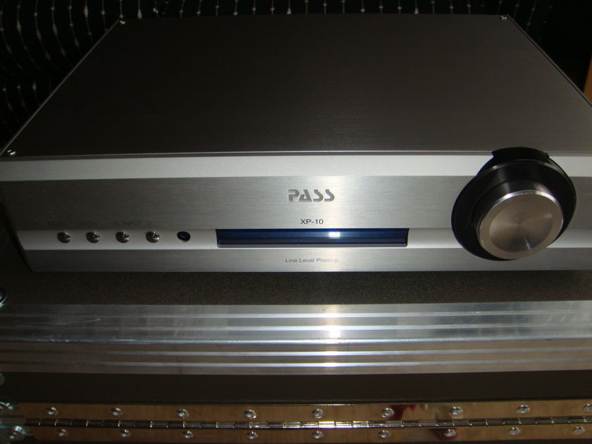 Pass Labs XP-10 Preamp Great Condition