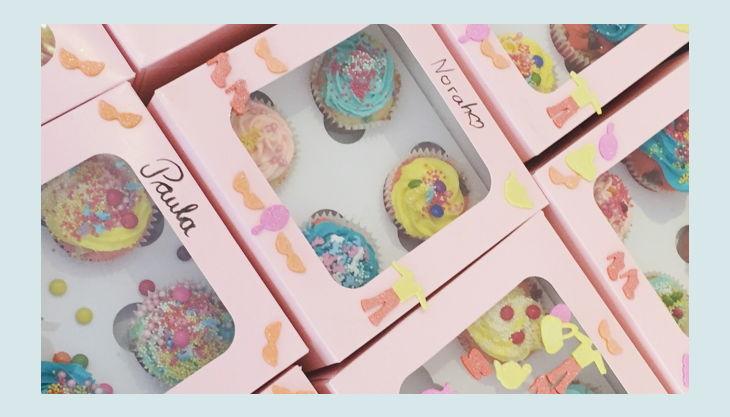 cupcakes im karton