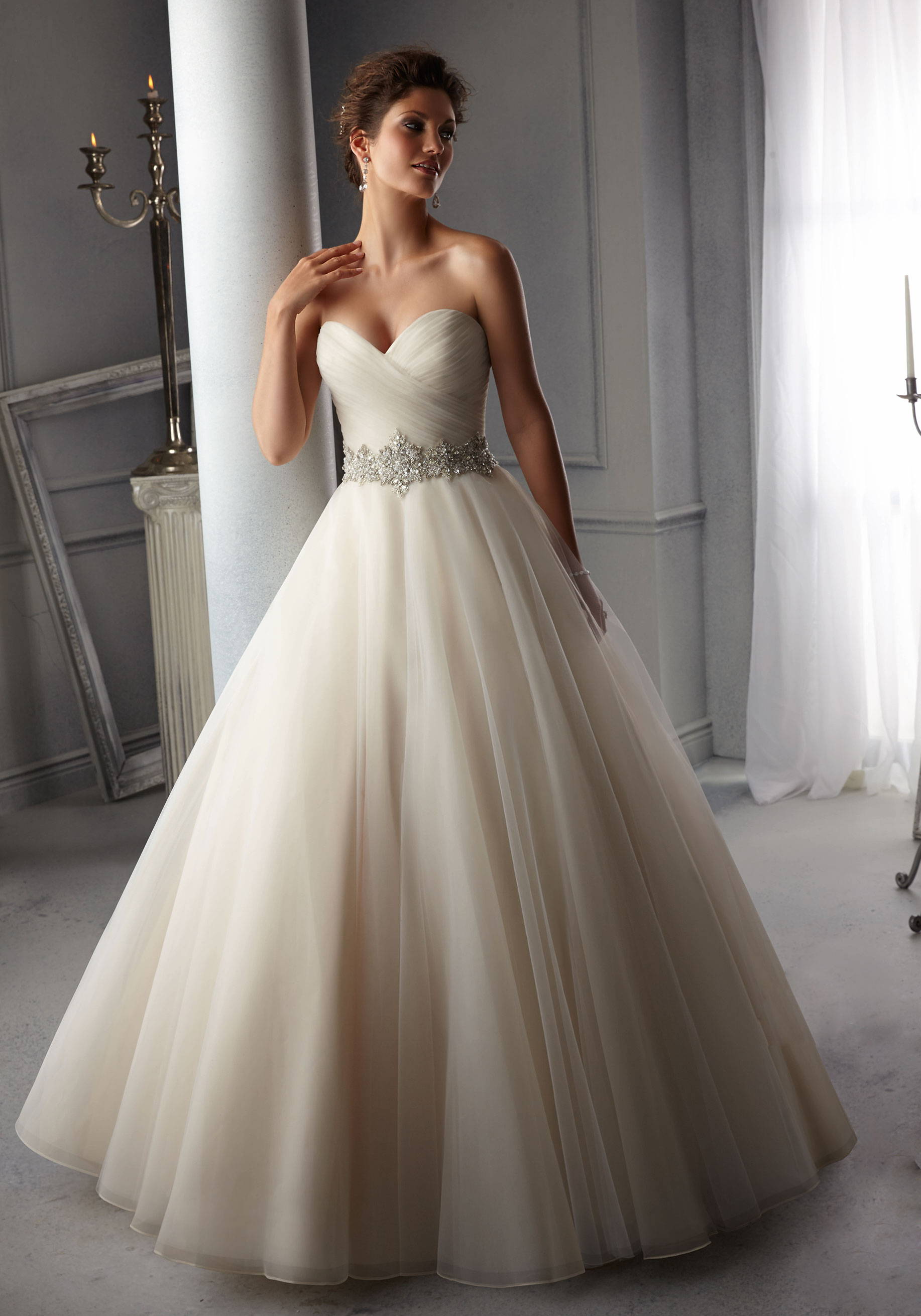 MORI LEE  WEDDING DRESS 5726