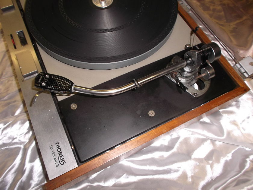 Thorens/SME TD125II & 3009 improved turntable and tonearm