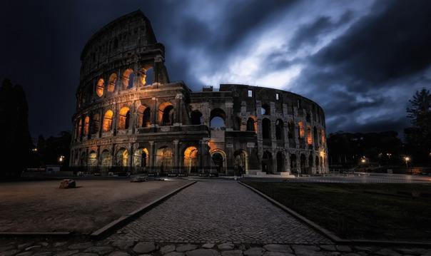 Магия ночного Рима