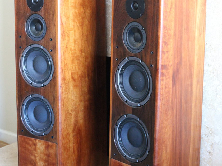 Daedalus Audio DA-1 Full Range Speakers, Beautiful Condition, Cherry Wood