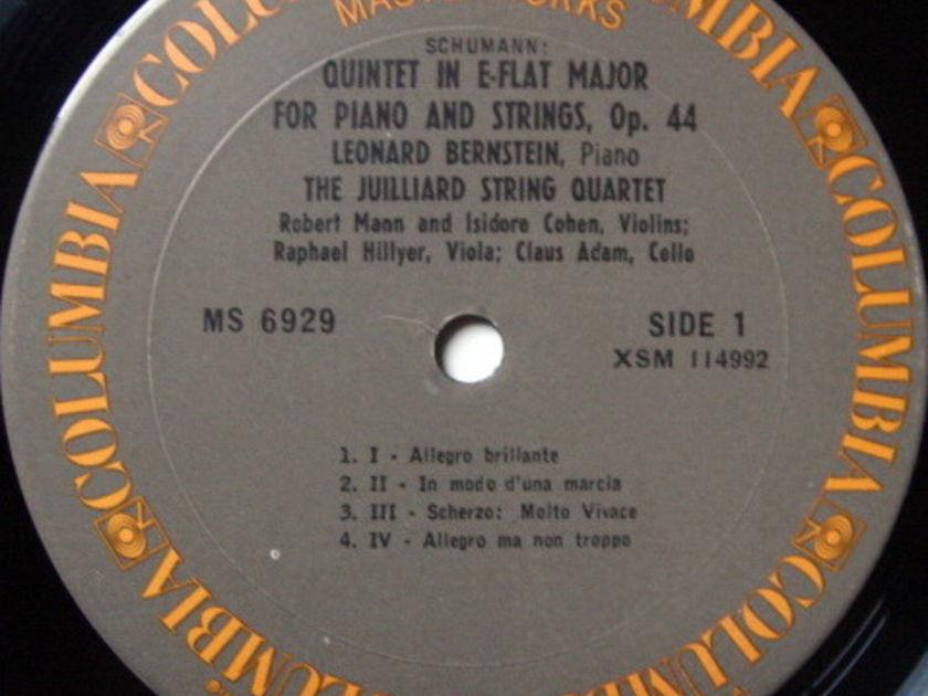 Columbia / JUILLIARD QT-BERNSTEIN, - Schumann Piano Quintet, MINT!