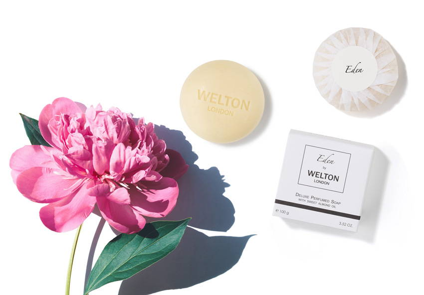 perfumed solid soap deluxe minimalist comforting softness formula palm oil free niche brand